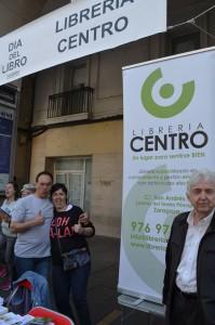 Librería Centro en Zaragoza.