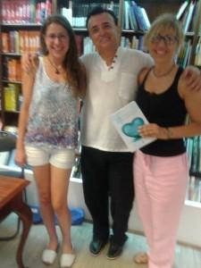 Judit Palà, Álex de Sande y Maite García.