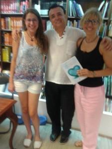 Judit, Álex y Maite Garcia