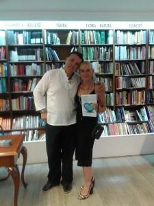 Álex de Sande y Chelo Lázaro Prieto
